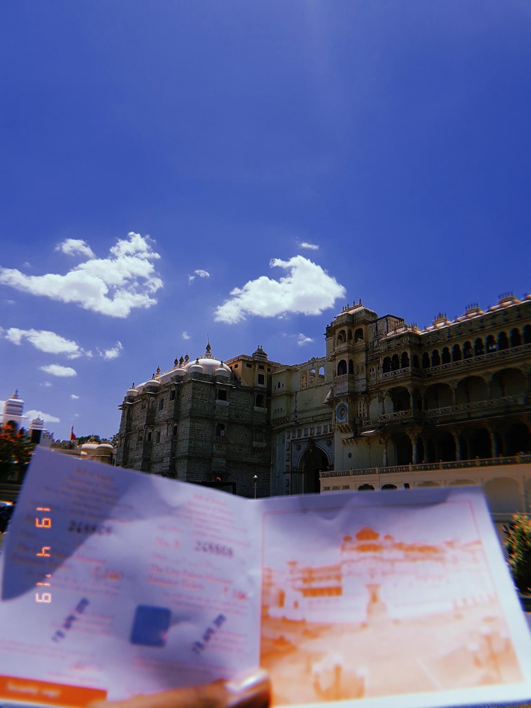 Entry ticket City Palace Udaipur
